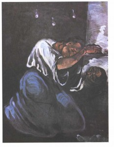The Magdalen of Sorrow by Paul Cezanne